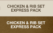 CHICKEN & RIB SET EXPRESS PACK